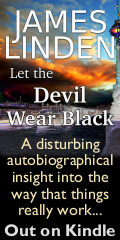 James Linden- Let the Devil Wear Black. Work governments, corruption and death. Memoirs of an analyst.